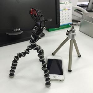 iPhoneで写真撮影!初級講座1!ミニ三脚を使ってみる!