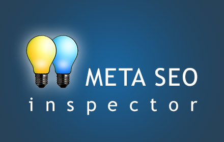 SEO対策の作業に便利「その2」!Chrome拡張機能「META SEO inspector」