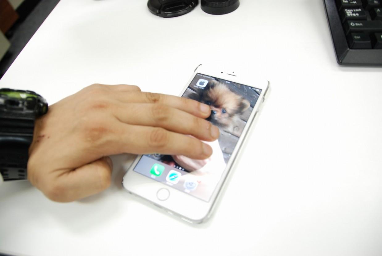 iPhone6+でちょっと変わった操作!
