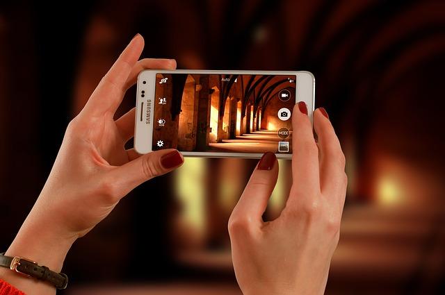 携帯カメラ