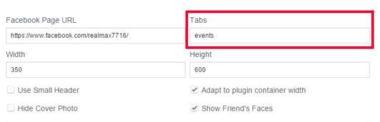 Page PluginにTabsの設定項目が増えました